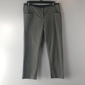 THE LIMITED Drew Fit Crop Gray Pants size 6
